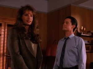 Denise Bryson arrives in Twin Peaks.
